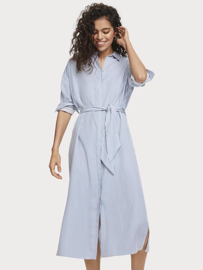 Scotch Soda Striped Seersucker Shirt Dress Women Shopstyle