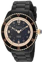 Alpina Women's 'Comtesse' Swiss Quartz Stainless Steel and Rubber Fitness Watch, Color:Black (Model: AL-281BY3V4)