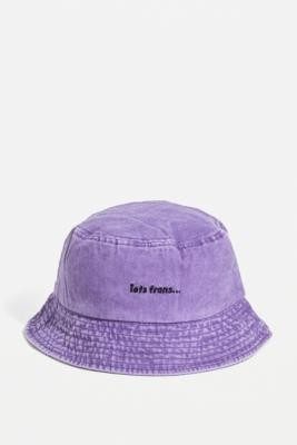 iets frans... Washed Lilac Bucket Hat - Purple ALL at Urban Outfitters