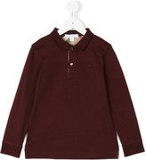 Burberry longsleeved polo shirt - kids - Cotton - 4 yrs