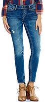 Silver Jeans Co. Suki Distressed Super Skinny Jeans