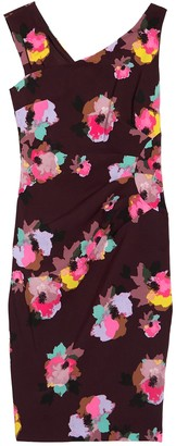 Laundry by Shelli Segal Floral Cocktail Dress
