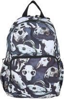 Molo Skull Printed Nylon Canvas Backpack