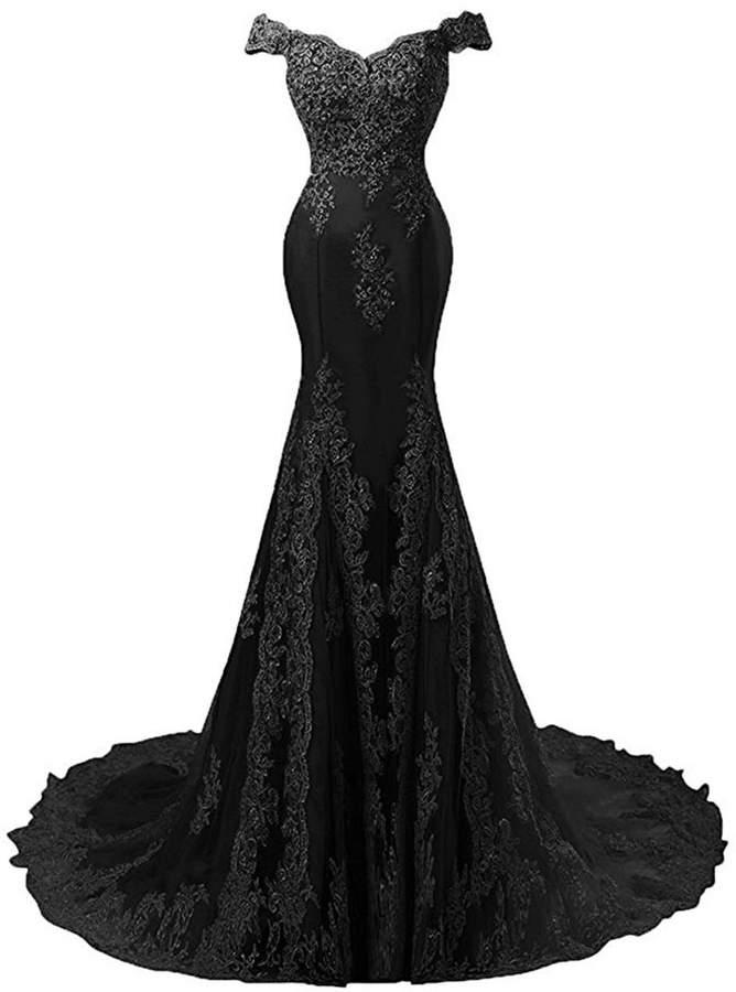 5e36a305bf45 Black An White Floor Length Dress - ShopStyle Canada