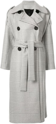 Petar Petrov Double Breasted Trench Coat