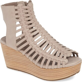 Chocolat Blu Weber Strappy Wedge Sandal
