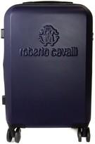 """Roberto Cavalli Classic 24"""" Logo Embossed Hardside Spinner"""