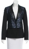 Elizabeth and James Deco Sequin Blazer w/ Tags