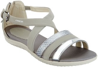 Geox Cross-Strap Sandals - Vega