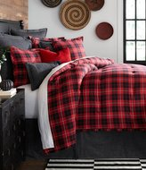 Daniel Cremieux Cameron Buffalo Plaid Flannel Comforter Mini Set