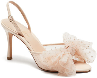Kate Spade Bridal Sparkle Tulle Sandals