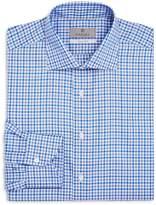 Canali Impeccabile Medium Check Regular Fit Dress Shirt