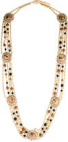 Dolce & Gabbana Multistrand Crystal Bead Necklace