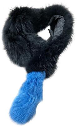 CHARLOTTE SIMONE Multicolour Raccoon Scarves