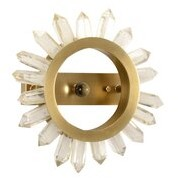 Chelsea House 1 - Light Antique Brass Wallchiere