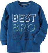 Carter's Boys' 2T-8 Best Bro Ever Graphic Tee