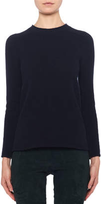 The Row Rickie Cashmere Crewneck Sweater