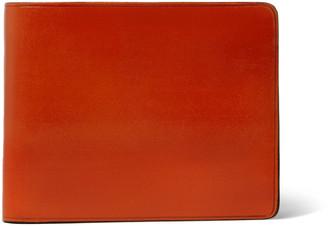 Il Bussetto Polished-Leather Billfold Wallet - Men - Orange