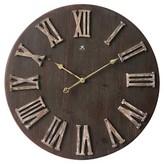Infinity Instruments Barn Door Wall Clock - Brown