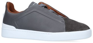 Ermenegildo Zegna Triple Stitch Sneakers