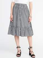 Old Navy Button-Front Midi Skirt for Women