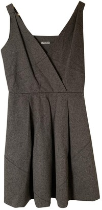 Miu Miu Beige Wool Dresses