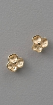 St. Kilda Gold Tiny Flower Studs