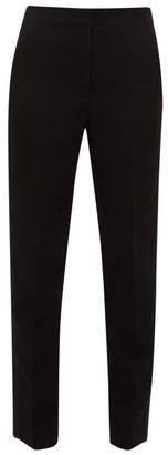 Roksanda Colwyn Silk-satin Striped Crepe Trousers - Black