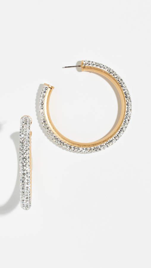 Kate Spade Razzle Dazzle Hoop Earrings