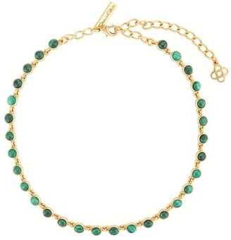 Oscar de la Renta Encrusted Necklace
