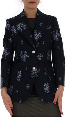 Gucci Floral Fil Coupe Blazer