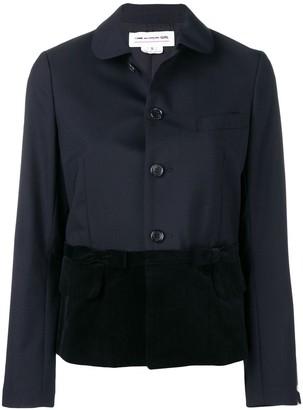 Comme des Garcons Contrast Buttoned Jacket