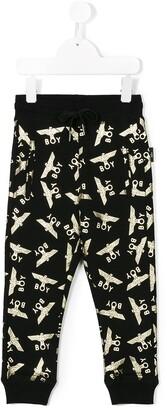 Boy London Kids logo print sweatpants