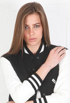 Jennifer Zeuner Jewelry Theresa Mini Cross Handchain -