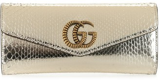 Gucci Broadway metallic clutch bag