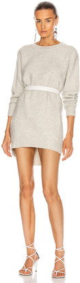 Etoile Isabel Marant Danaelle Dress in Light Grey | FWRD