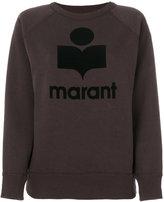 Etoile Isabel Marant Étoile slogan sweatshirt - women - Cotton/Polyester - 36