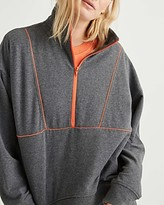 Thumbnail for your product : Richer Poorer Half Zip Mock Neck Sweatshirt