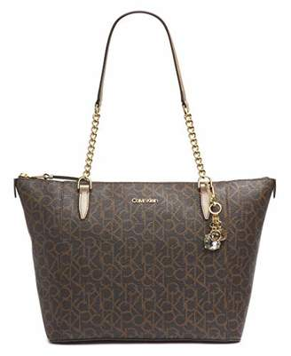 Calvin Klein Marybelle Signature Top Zip Tote