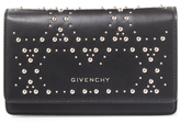 Givenchy Pandora Studded Leather Wallet on a Chain