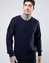 Ymc Moss Knitted Crew Neck Jumper