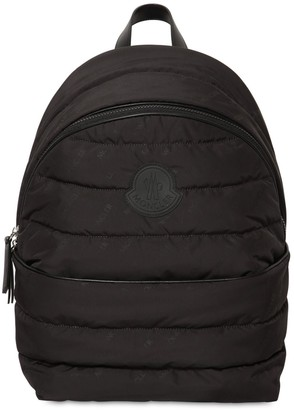 Moncler Allover Logo Nylon Backpack