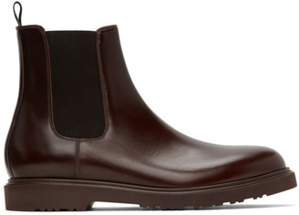Paul Smith Burgundy Lambert Chelsea Boots