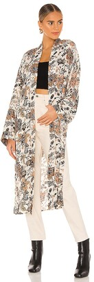 Free People Play It Cool Kimono