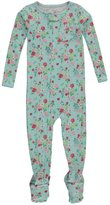 "Carter's Little Girls' Toddler ""Floral & Pocket"" Footed Coverall"