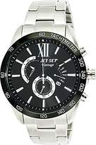 Jet Set – j10871-232 Vantage – Watch Men – Quartz – Chronograph – Black Dial – Steel Bracelet Silver