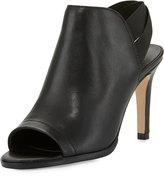 Sesto Meucci Barkley Leather High-Heel Sandal, Black