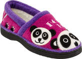 Acorn Children's Applique Moc - Panda Slippers