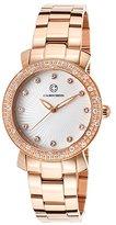 Cabochon Women's 16604-RG-22 Carmel Analog Display Quartz Rose Gold Watch