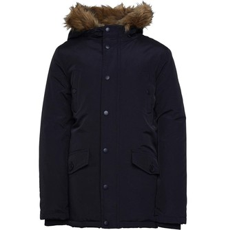 Kangaroo Poo Boys Parka Jacket Black